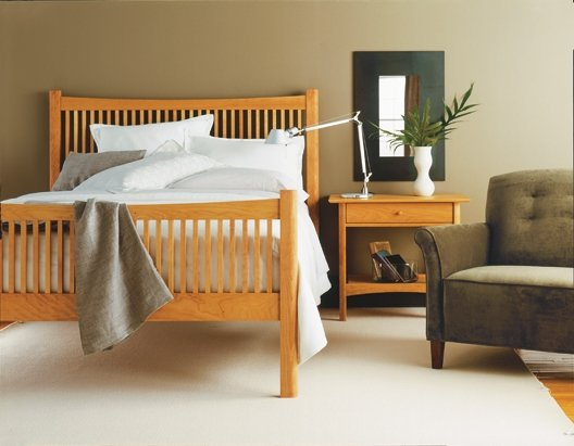White Lotus Home Natural Bedroom Furniture - The natural bedroom
