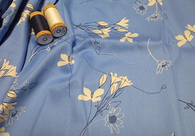 100 Gots Organic Sateen Sheets In Printed Fabric